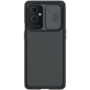 For OnePlus 9 Pro Phone Case Protective Cover Shockproof w/ Slide Camera Cover