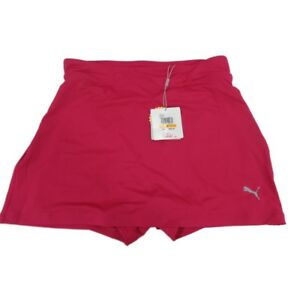 """Puma DryCell Women's Solid Knit Golf 14"""" Skirt or skort 572866 Small Pink NWT"""
