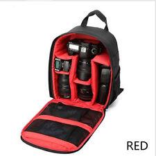 Waterproof DSLR Camera Video Backpack Shoulder Bag Case For Canon Nikon Sony sol