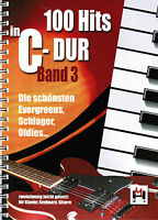 Keyboard Klavier Noten : 100 Hits in C-Dur 3 lei-leMi Schlager Oldies Evergreens