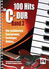 Keyboard Klavier Noten : 100 Hits in C-Dur 3 lei-leMi Schlager Oldies Evergreens