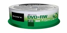 DVD-RW Sony in spindle/cake box per l'archiviazione di dati informatici