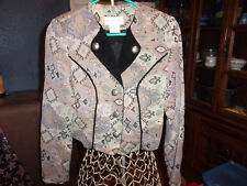 Womens State Line Tack Western Pleasure Show Jacket Size Small