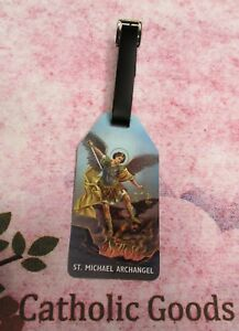 St. Saint Michael the Archangel - Luggage Tag
