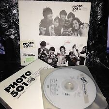 SS501 Photobook Photo 501 DVD Great Condition KPOP Postcard Book Bonus DVD RARE