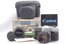 @ Ship in 24 Hrs! @ Original Box Set! @ Canon Canonflex RM SLR Film Camera
