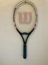 Wilson Sting Tennis Racquet 4 3/8 Lite Graphite Soft Shock Systems W/ OverGrip