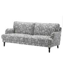 "IKEA STOCKSUND Sofa (3 Seat 78 3/8"") Cover Slipcover Hovsten Gray-White NEW!"