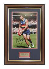 Adelaide Crows Eddie Betts Signed Framed Print AFL