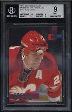 1994-95 Stadium Club Members Only Joel Otto Mint BGS 9 Sub 9.5 Calgary Flames