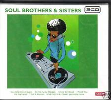 SOUL BROTHERS & SISTERS - VARIOUS ARTISTS on 2 CD's - NEW -