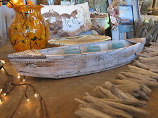 Large Driftwood Boat  Candle Holder - Home Decor - Beach Decor -Nautical Decor