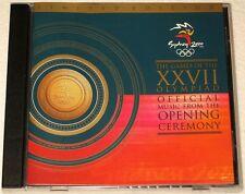 SYDNEY 2000 OLYMPICS - OPENING CEREMONY - CD - TINA ARENA - JOHN FARNHAM