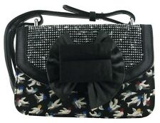 Irregular Choice Hook Line & Zavorra Nero Multi NUOVA LINEA DONNA A MANO CLUTCH BAG