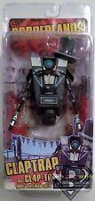 "CLAPTRAP aka CL4P-TP GENTLEMAN CALLER Borderlands Video Game 7"" Figure Neca 2014"