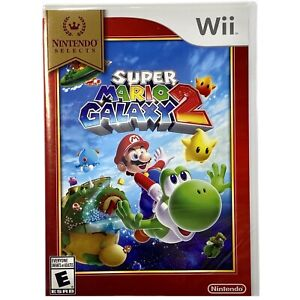 Nintendo Selects Wii: Super Mario Galaxy 2 NEW FACTORY SEALED!