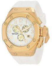 Swiss Legend Mens 10541-YG-02-GA Trimix Diver Chronograph Watch White New in Box