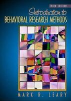 Introduction To Behavioral Research Methods por Leary, Mark R