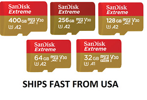 Sandisk Extreme Micro SD Memory Card 32GB 64GB 128GB for GoPro Max Hero9 Hero8