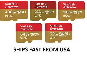 Sandisk Extreme Micro SD Memory Card 32GB 64GB 128GB for GoPro Max Hero9 Hero8