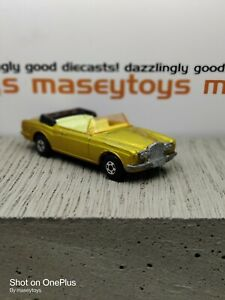 MATCHBOX LESNEY Superfast No.69c Rolls-Royce Silver Shadow 1972 Original Vintage
