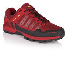 Higher State Hombre Soil Shaker Sendero Correr Zapatos Zapatillas Negro Rojo
