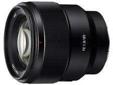 Sony FE 85mm f/1.8 Telephoto Lens