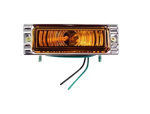 1947-53 Chevy Pickup Parking Lamp Assembly Amber 12-Volt - RH / LH New Dii