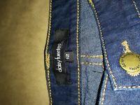 New daisy Fuentes women dark blue jeans size 12