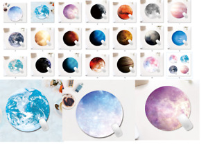Round Planet Mouse Pad, Office Mouse Pad, solar system planets mouse pad - NEW