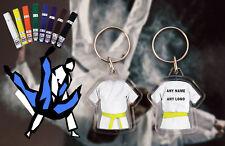 Personalised Judo - Karate - Ju Jitsu - Kickboxing double sided Yellow Belt