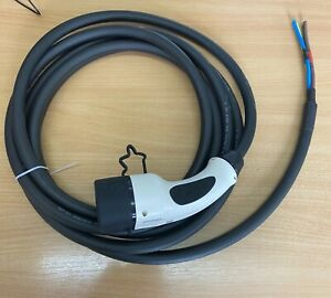 Single Phase Type 2 Female Plug, EV, with 5m cable, replacement