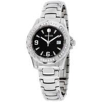 Wenger Sport Elegance Quartz Movement Black Dial Ladies Watch 70399