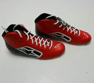 ALPINESTARS 1-K START Kart Racing SHOES Mens RED BLK WHT Karting Boots Race NEW