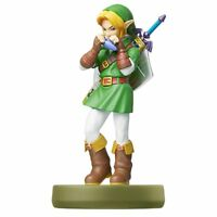 Nintendo amiibo The Legend of Zelda Ocarina of Time LINK 3DS Wii Accessories NEW