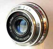 """USSR made in 1958! Red """"P"""" INDUSTAR-50 3,5/50 Pancake Lens M42"""