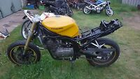 Hyosung gt 250 wrecking all parts available  (this auction is for one bolt only)