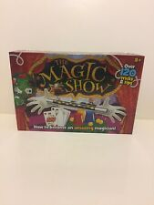 The Magic Show Over 120 Tricks & Tips - Become An Amazing Magician Wand Kids Set