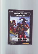 CODEX ARMIES OF THE IMPERIUM - INTERACTIVE ARMY LIST FOR WARHAMMER 40,000 PC VGC