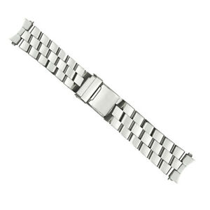 22MM WATCH BAND BRACELET FOR BREITLING SUPEROCEAN ABYSS COLT BRUSHED CURVED END