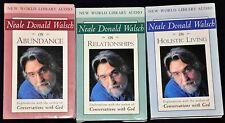 3 90-minute Cassettes Explorations Neale Donald Walsch Relationships Abundance..