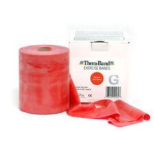 THERA-BAND ® 2,5 m rot Gymnastikband Original Theraband von der Rolle