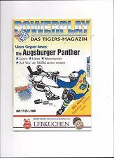 DEL Eishockey Programm: NÜRNBERG ICE TIGERS - AUGSBURGER PANTHERS 25.01.1998