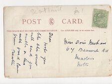 Miss Doris Newham Beauvale Road Meadows Nottingham 1905 282a