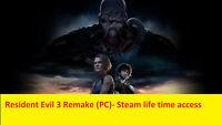 Resident Evil 3 Remake (PC)- Steam Account