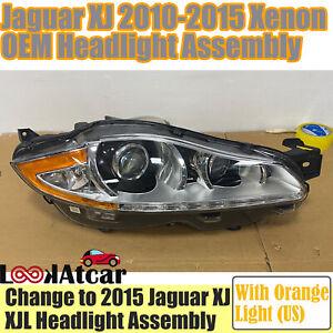 2010 2012 2013 2014 2015 Jaguar XJ Xenon Headlight Assembly XJL Right Headlamp