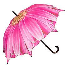 Von Lilienfeld Automatic Walking Umbrella - Anemone Pink