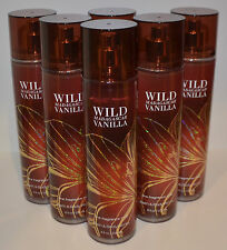 6 BATH BODY WORKS WILD MADAGASCAR VANILLA FINE FRAGRANCE MIST SPRAY PERFUME LOT