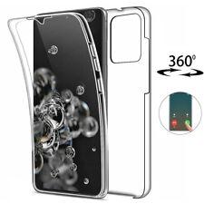 360 Front & Back Case For Samsung S20 S10 S9 A21S A41 A51 Full Clear TPU Cover