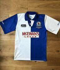 BLACKBURN ROVERS 1994-95 Jersey Shirt ASICS Original PL Champions Soccer Size S